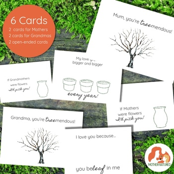Mothers Day Nature Cards Kids Will Love to Make (MUM version)