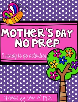 Mother's Day No Prep Mini Pack