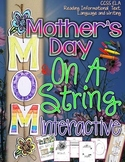 Mother's Day: On A String Interactive {All About Mom Writi