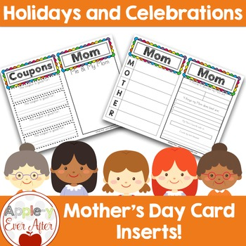 Mother's Day Package - Card Inserts & Booklet