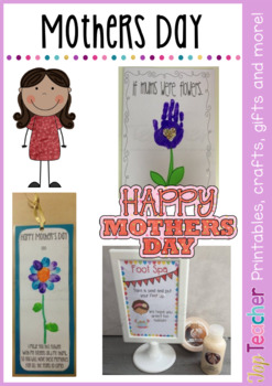 Mothers Day Package - gift ideas and activities.