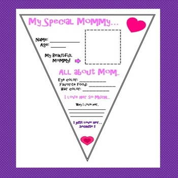 Mothers Day Pennant