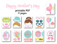 Mother's Day Photo Booth Props Printable Love Mom Party Photobooth Prop 0180