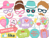 Mother's Day Photo Booth Props Printable Love Mom Party Ph