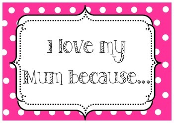 Mother's Day Photo Signs