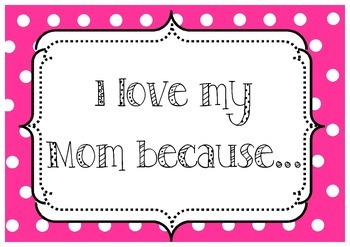 Mother's Day Photo Signs American