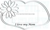 Mother's Day Picture Frame Activity