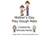 Mother's Day Play Dough/Play-Doh/Playdough Mats