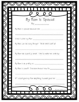Mother's Day Poem Freebie