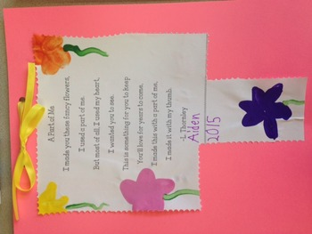 "Mother's Day Poem- ""A Part of Me"" An original poem by L. Thornley"