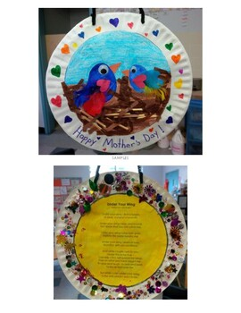 Under Your Wing - Mother's Day Poem, Craft and Activities