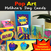 """Pop Art"" Mother's Day Cards 