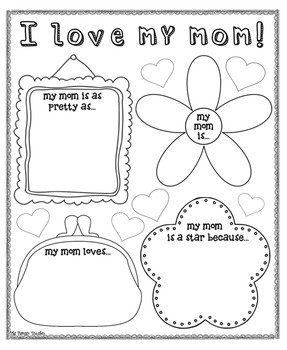 Mother's Day Poster {For Bulletin Boards}