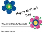 Mother's Day Posters and Notes