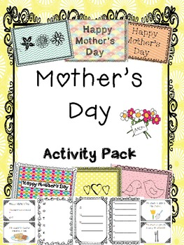 Mother's Day Printable Activities