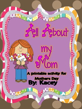 Mother's Day Printable Booklet