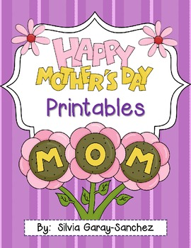 Mother's Day Printable Keepsake Book