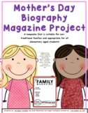 Mother's Day Project  - Magazine Cover Template (2019) and Writing Papers