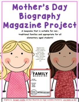 Mother's Day Project  - Magazine Cover Template (2017) and