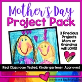 Mother's Day Project Pack!  3 precious projects to celebrate mom &/or grandma!