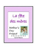 La Fête des mères ~ Mother's Day Project * Pac For French