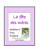 La Fête des mères ~ Mother's Day Project * Pac For French