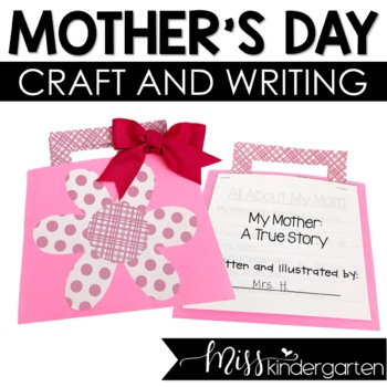 Mother's Day Craft   Mother's Day Purse Google Slides™ Compatible