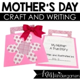 Mother's Day Craft and Writing Activity | Mothers Day Purs