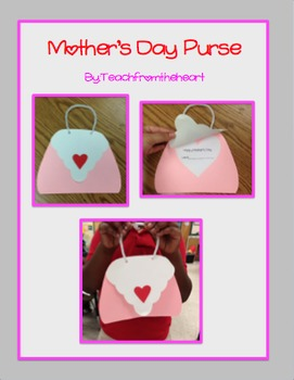 Mother's Day Purse Craft (A gift for mom, grandma or aunt!)