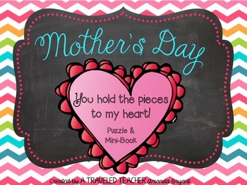 Mother's Day Puzzle & Mini-Book