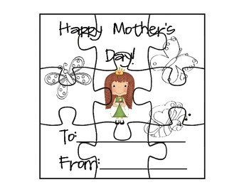 Mother's Day Puzzle Set