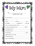 Mother's Day Questionnaire - Grandma too!