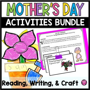Mothers Day Reading Comprehension and Craft BUNDLE