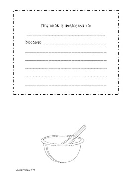 Mother's Day Recipe Book  K-3