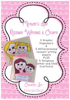 Mother's Day Recount Writing Craftivity