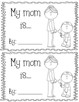 Mother's Day Simile Book (Bilingual)