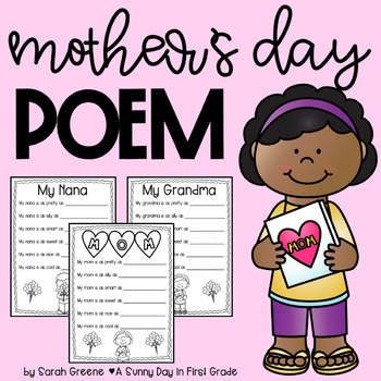 Mother's Day Simile Poem! {FREEBIE!}