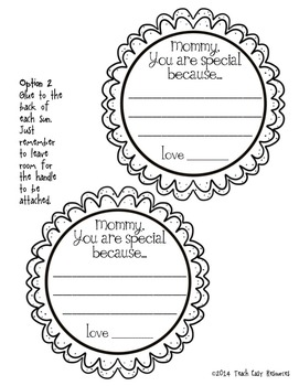 FREE Mother's Day Performance Idea and Craft - Teach Easy Resources