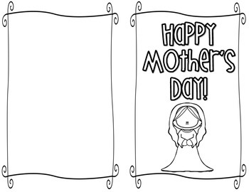 Mother's Day Spiritual Bouquet Card