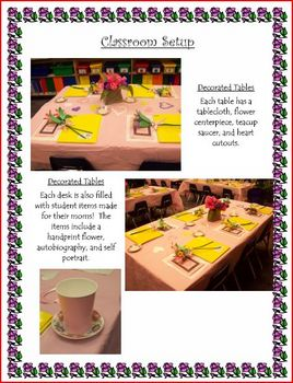 Mother's Day Tea Ideas and Crafts