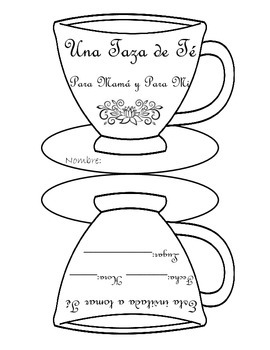 Mother's Day Tea Invitation