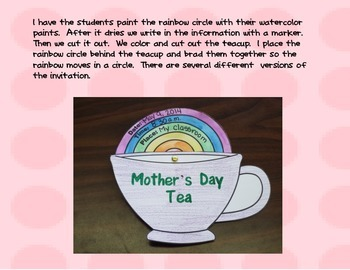 Mother's Day Tea Invitations
