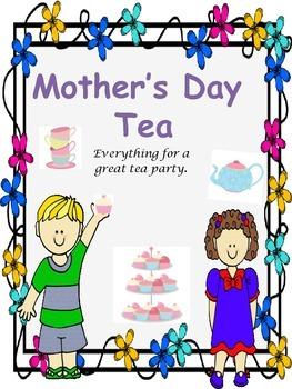 Mother's Day Tea - Kindergarten, First