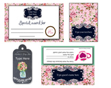 Mother's Day Tea Printables Package...Editable