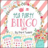Tea Party BINGO