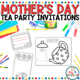 Mother's Day Tea Party Invitations