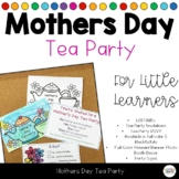 Mothers Day Tea Party Invitations & RSVP Cards