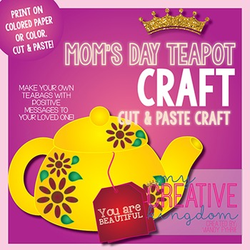 Mother's Day Tea Pot / Kettle Craft