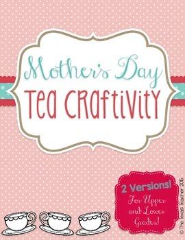 Mother's Day Tea Writing Craftivity