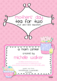 Mothers' Day Tea for Two True/False Equation Game